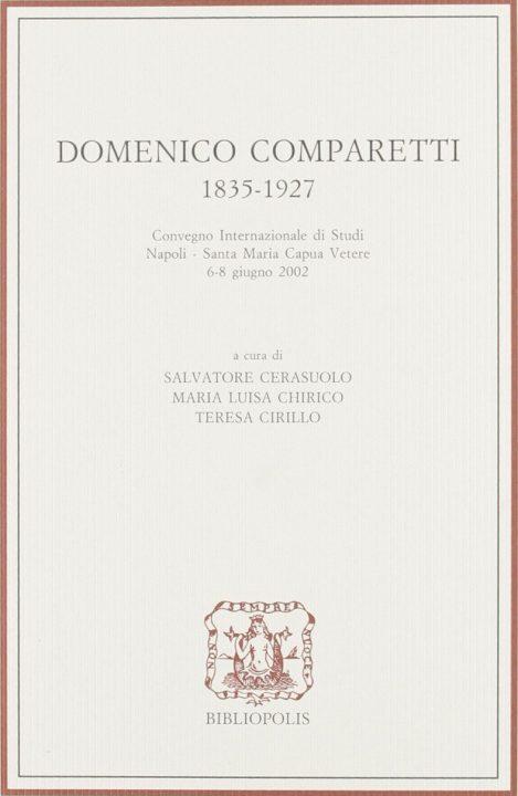 Domenico Comparetti 1835-1927