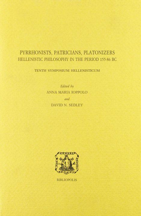 Pyrrhonists, Patricians, Platonizers