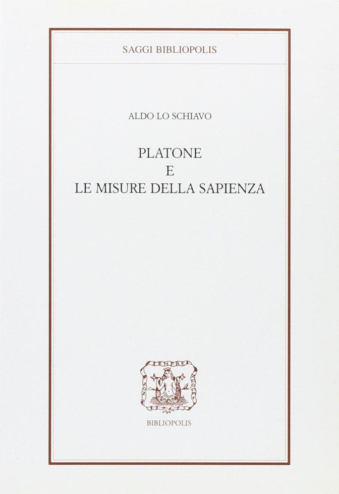 Platone e le misure della sapienza