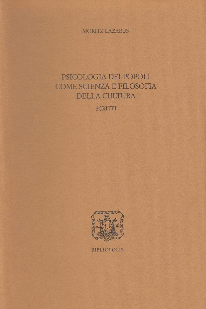 psicologia dei popoli