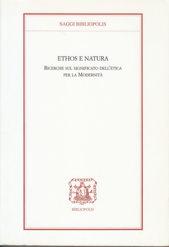 ethos e natura
