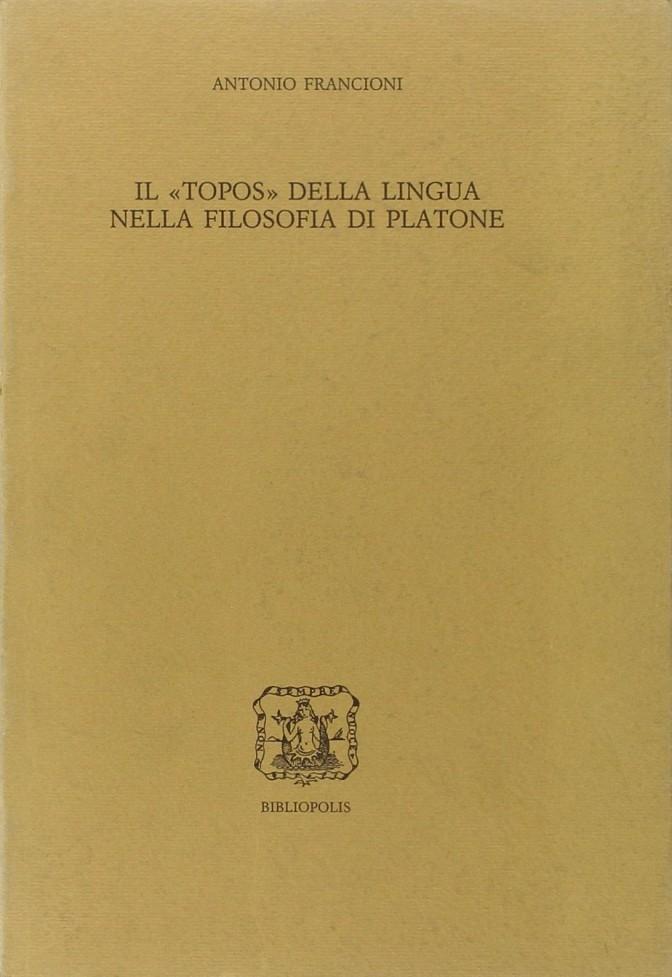Il topos della lingua nella filosofia di Platone