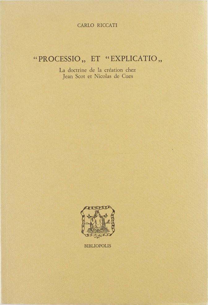 Processio et explicatio