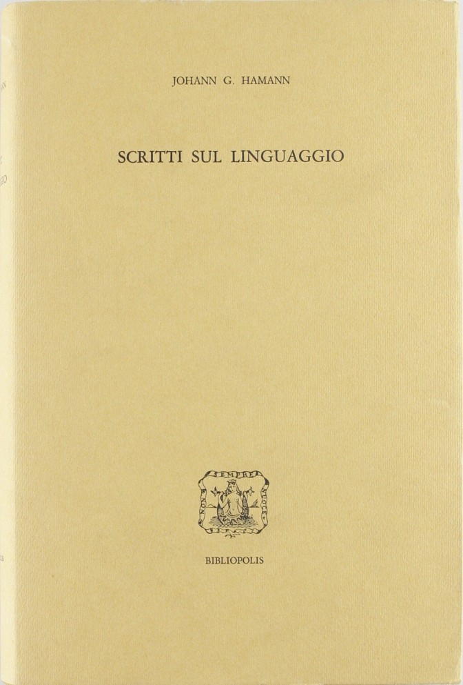 Scritti sul linguaggio
