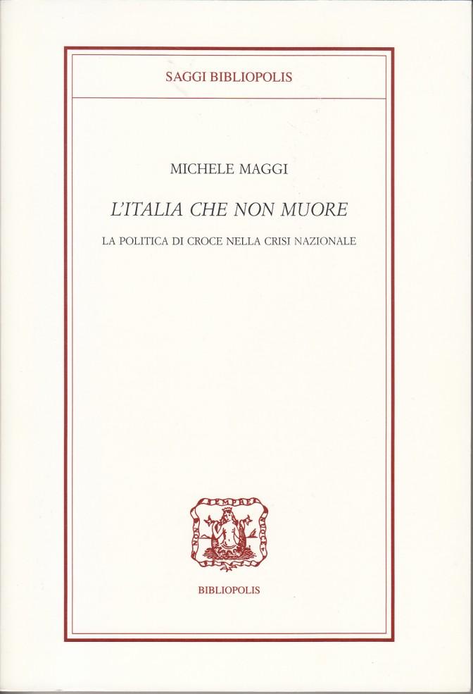 copertina italia che non muore