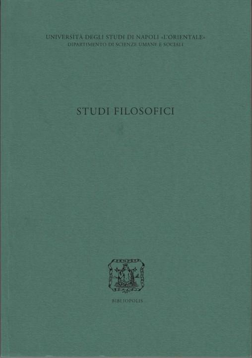 studi filosofici rivista