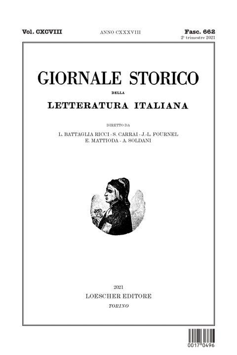 Recensione di M. Pozzi a B. Croce, L'Italia dal 1914 al 1918. Pagine sulla guerra, Bibliopolis 2018 (Bollettino Storico della Letteratura italiana, CXCVIII, fasc. 662, 2021)
